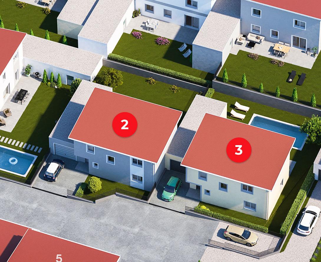 Einfamilienhaus Nr. 2 und 3 Am Steinried 3385 Gerersdorf