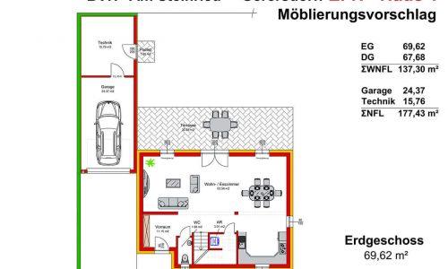 Concepta Neues Projekt-Am Steinried in 3385 Gerersdorf-Grundriss Haus 1 - EG - M75-1