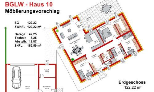 Neues Projekt-Am Steinried in 3385 Gerersdorf-Grundriss Haus 10 - M75-1