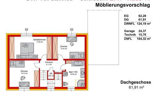 Neues Projekt-Am Steinried in 3385 Gerersdorf-Grundriss Haus 11 - DG-1