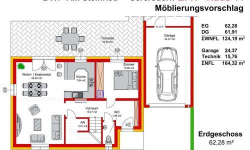Neues Projekt-Am Steinried in 3385 Gerersdorf-Grundriss Haus 11 - EG-1