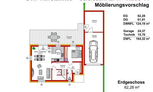 Neues Projekt-Am Steinried in 3385 Gerersdorf-Grundriss Haus 11 - EG - M75-1