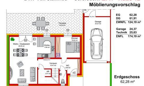 Neues Projekt-Am Steinried in 3385 Gerersdorf-Grundriss Haus 12 - EG-1