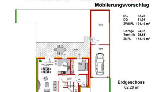Neues Projekt-Am Steinried in 3385 Gerersdorf-Grundriss Haus 12 - EG - M75-1