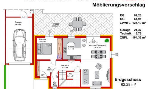 Neues Projekt-Am Steinried in 3385 Gerersdorf-Grundriss Haus 13 - EG-1