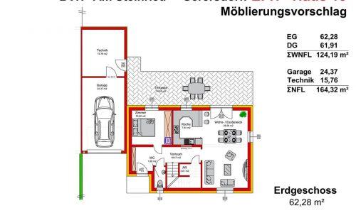 Neues Projekt-Am Steinried in 3385 Gerersdorf-Grundriss Haus 13 - EG - M75-1
