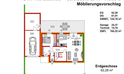 Neues Projekt-Am Steinried in 3385 Gerersdorf-Grundriss Haus 2 - EG - M75
