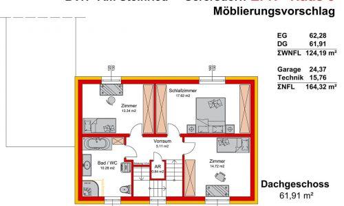 Concepta Neues Projekt-Am Steinried in 3385 Gerersdorf-Grundriss Haus 3 - DG-1
