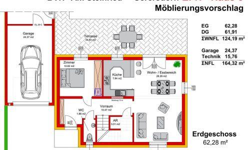 Neues Projekt-Am Steinried in 3385 Gerersdorf-Grundriss Haus 3 - EG