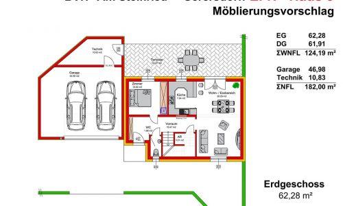 Neues Projekt-Am Steinried in 3385 Gerersdorf-Grundriss Haus 5 - EG - M75