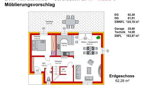 Concepta Neues Projekt-Am Steinried in 3385 Gerersdorf-Grundriss Haus 9 - EG-1