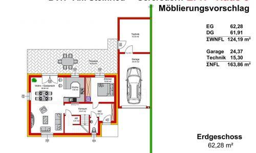 Neues Projekt in 3385 Gerersdorf-Am Steinried-Grundriss Haus 8 Erdgeschoss-M75