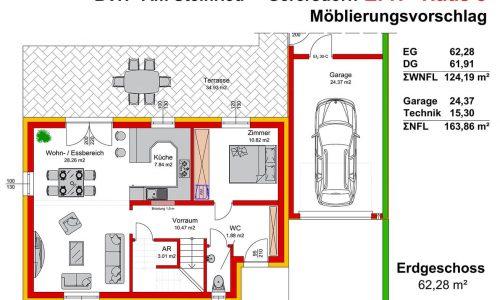 Neues Projekt in 3385 Gerersdorf-Am Steinried-Grundriss Haus 8 Erdgeschoss