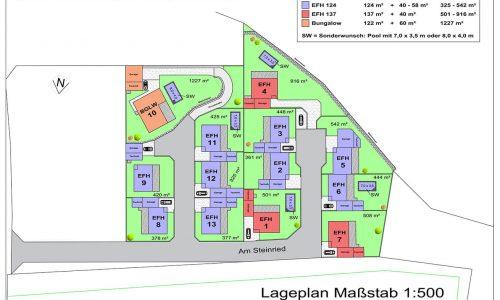 Lageplan - BVH Am Steinried, 3385 Gerersdorf-1
